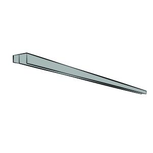 Trilhos de alumínio superior e inferior