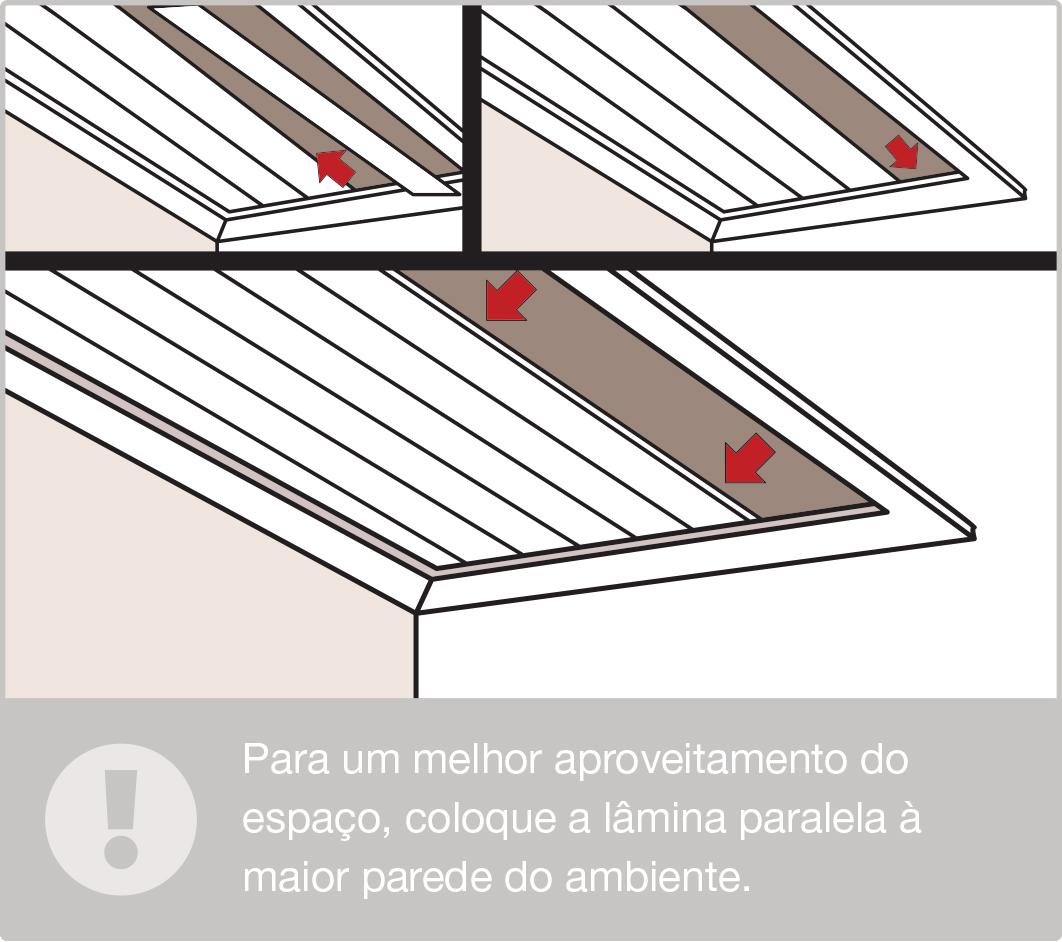 30145fe42a71 Como instalar um forro de PVC | Leroy Merlin