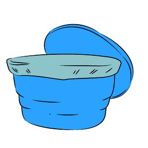 Tela de proteção da caixa-d'água