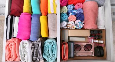 Como organizar gavetas de roupas: 3 passos para uma arrumação perfeita