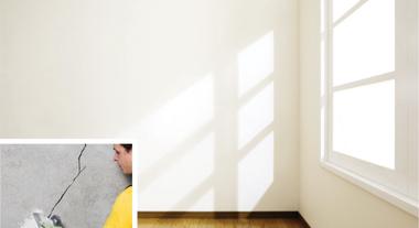 Como reparar trincas na parede
