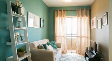 Confira o antes e depois de uma casa e um apartamento