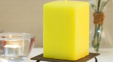 Conheça o poder da vela decorativa
