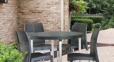 Conjunto de jardim permite criação de ambientes mais confortáveis e aconchegantes