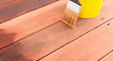 Conservação de decks de madeira