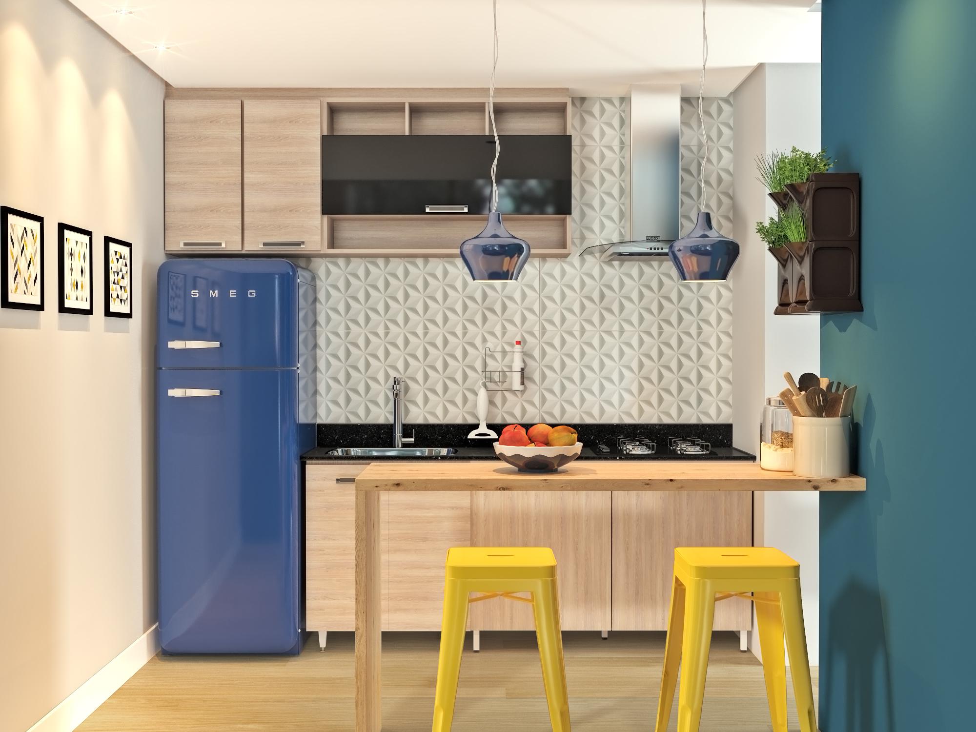 Cozinha Americana Compacta Leroy Merlin