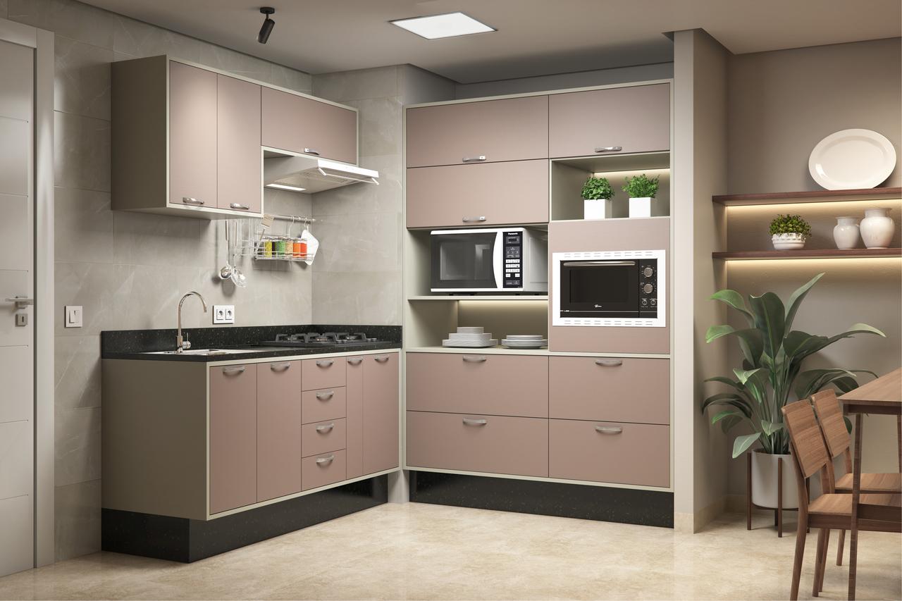 Cozinha Compacta com Pia - Foto de Cozinha   Leroy Merlin