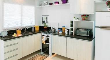 Cozinha grande para família