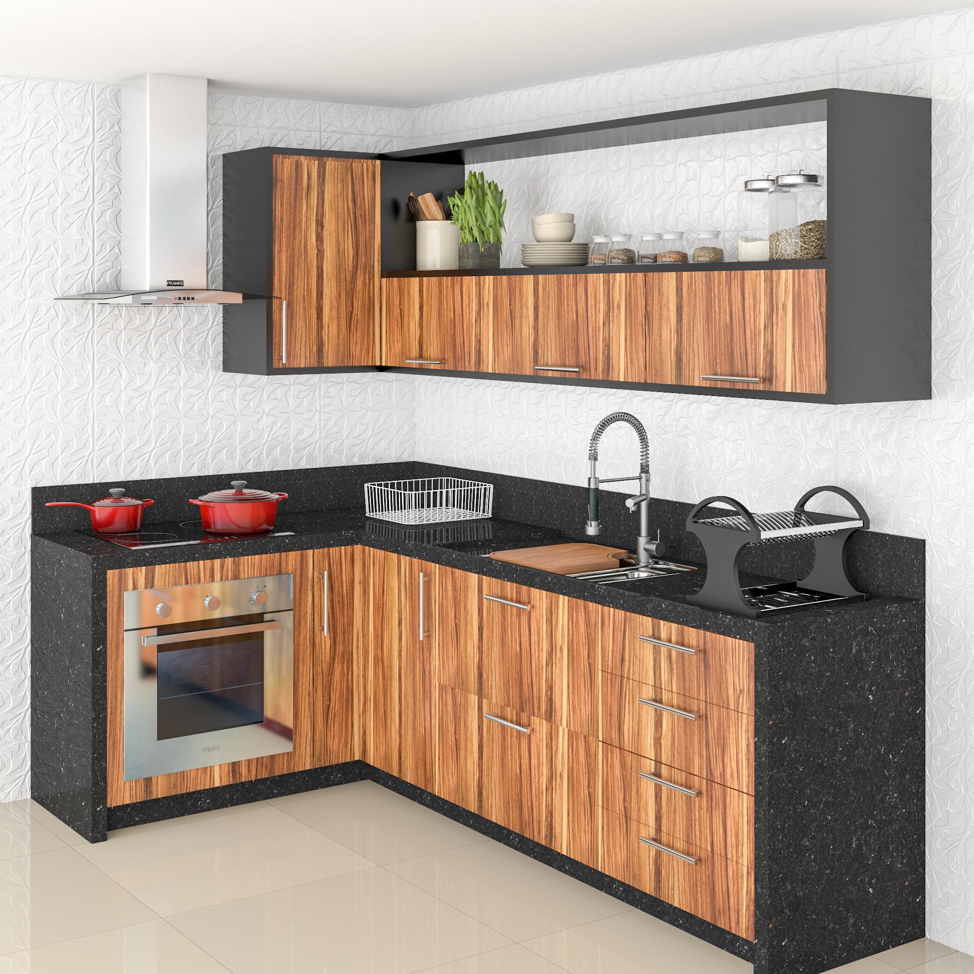 Cozinha Modulada Completa 4 Ideias De Inspira O