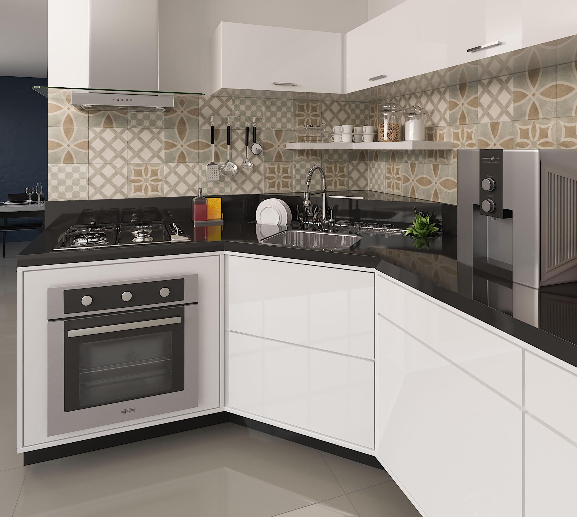 Cozinha Funcional Pequena Cozinha Pequena Ideia Para Cozinha