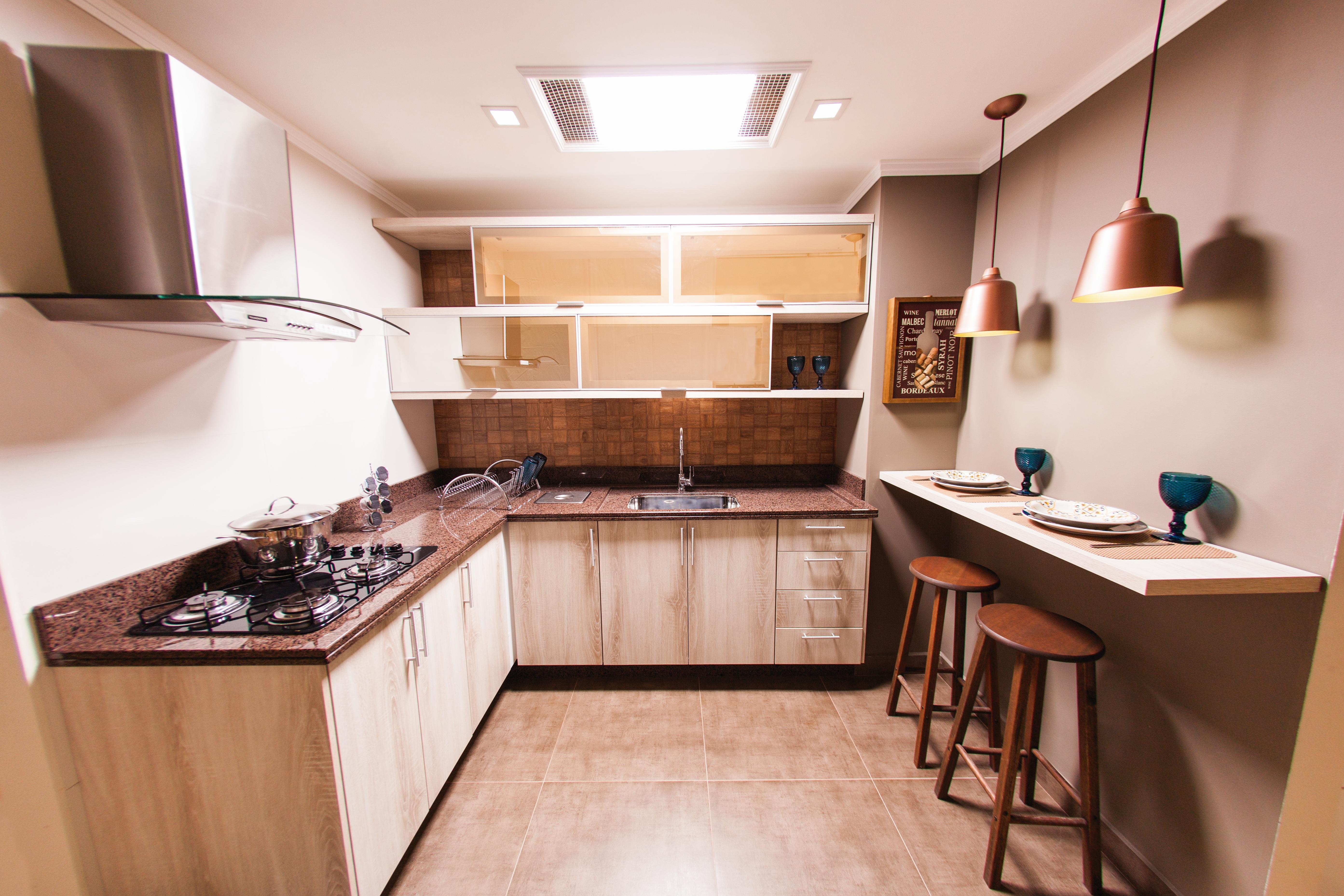 Cozinha Planejada Com Rea De Refei O Leroy Merlin