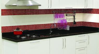 Cozinha Planejada Delinia: linha Marselha