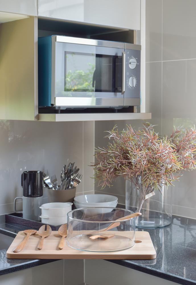 Cozinha com cooktop e forno de embutir forno de embutir - Rejilla microondas leroy merlin ...