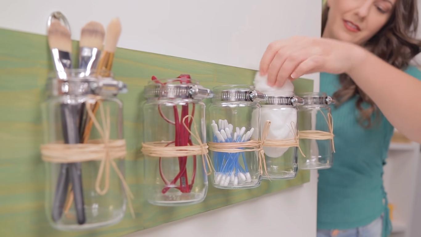 Decoração de banheiro: como fazer um organizador múltiplo passo a passo