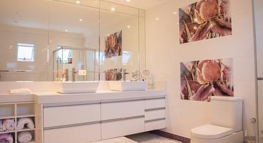 Decoração de banheiros: dicas simples e baratas para renovar o visual do cômodo todo branco