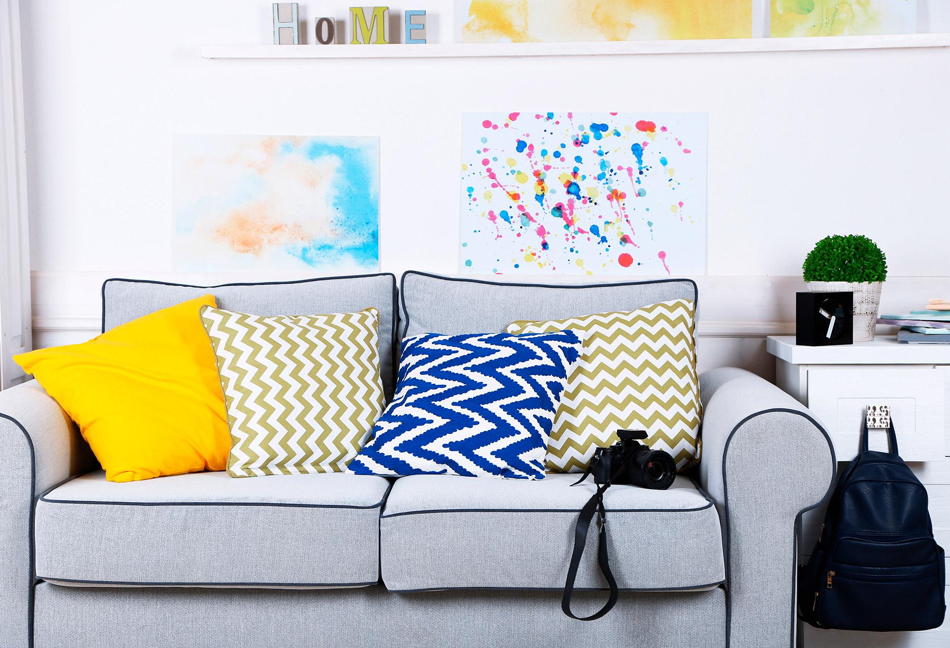 e8d4788f4a320 Decoração de casa  arquiteta dá dicas de como usar cores sem pintar parede