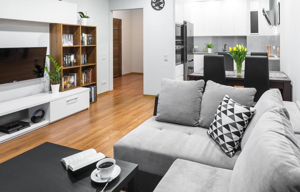 Decora o de sala pequena ideias e fotos de salas decoradas for Imagenes de salas pequenas