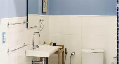 Decore e organize o seu banheiro pequeno