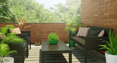 Deixe as áreas externas mais aconchegantes e elegantes