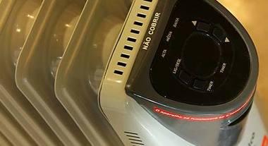 Desfrute dos benefícios do aquecedor portátil
