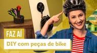 DIY com Peças de Bike