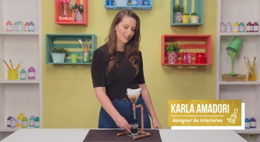 DIY de como fazer uma cafeteira com canos de cobre: aprenda com Karla Amadori
