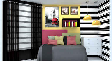 Dormitório com estilo Hype - Gerson Dutra de Sá