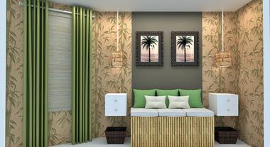Dormitório com estilo natural - Gerson Dutra de Sá