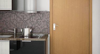 Escolha o modelo certo de porta para ambientes internos