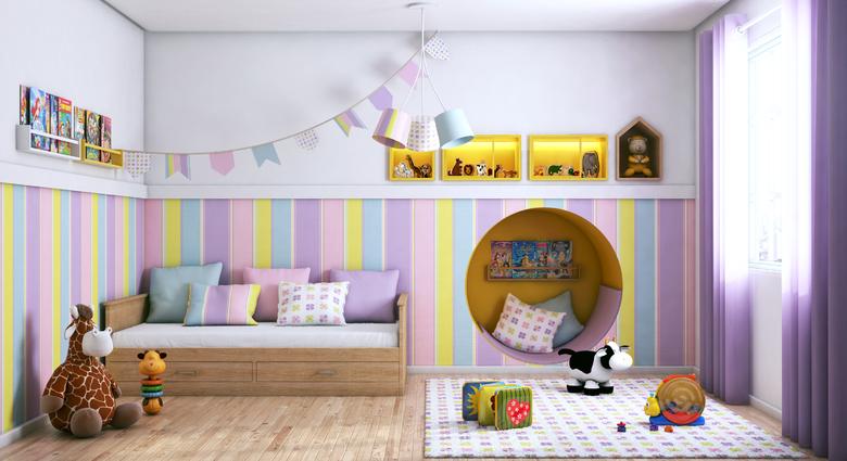 Escolha o piso certo para o quarto infantil | Leroy Merlin on