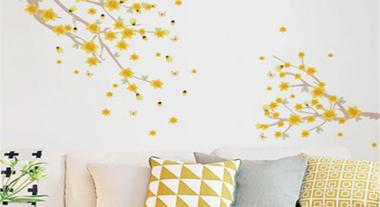 Escolha os melhores adesivos de parede para cada ambiente