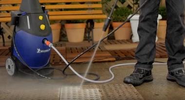 Faça limpezas sem muito esforço físico com as lavadoras de alta pressão