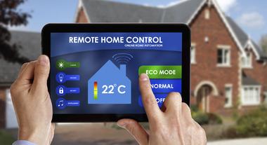 Foco em conectividade em casas inteligentes