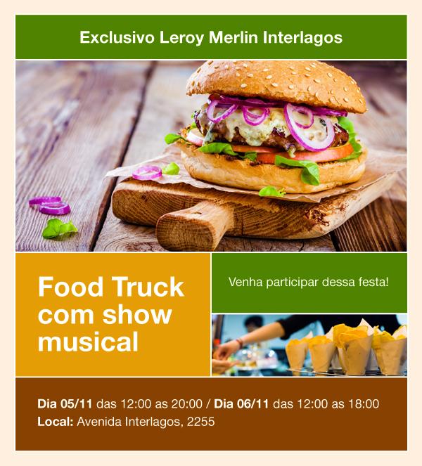 Food Truck na Loja de Interlagos