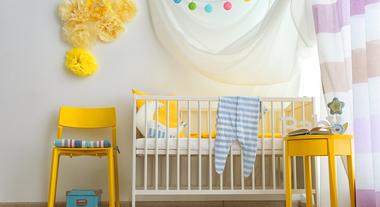 Fuja do óbvio: escolha entre opções de cor para quarto de bebê além do rosa e do azul