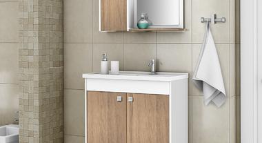 Gabinete para banheiro: 4 ideias para múltiplos estilos e tamanhos de cômodo