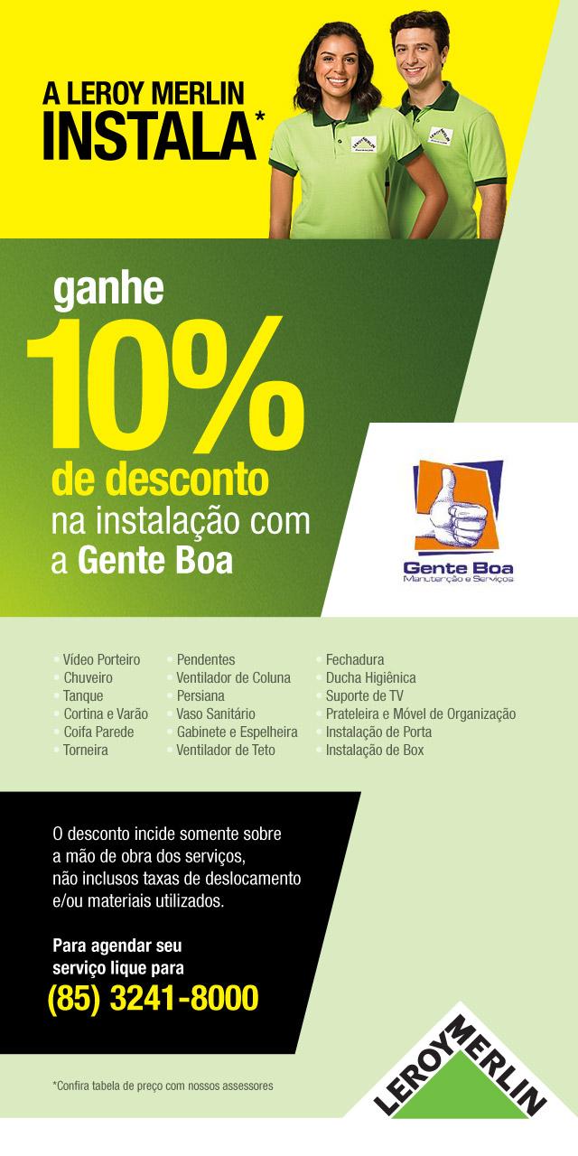 10% de desconto na Loja de Fortaleza