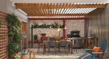 Inspire-se: veja 10 ambientes com churrasqueira