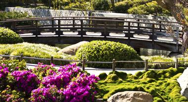 Jardim equilibrado pelo Feng Shui