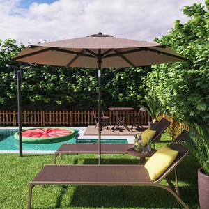 Jardim grande com ombrelone e piscina leroy merlin - Depuradora piscina leroy merlin ...