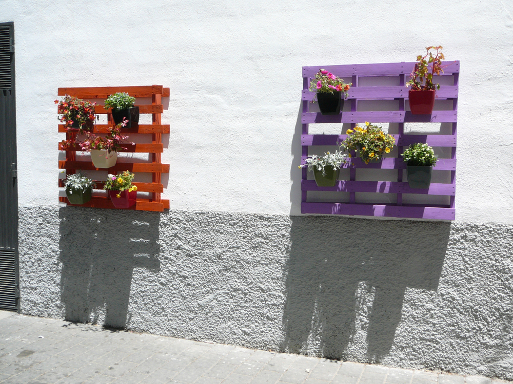Excepcional Jardim suspenso com paletes de madeira: passo a passo LM76