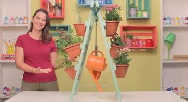 Jardim vertical: como fazer passo a passo um modelo com cavaletes