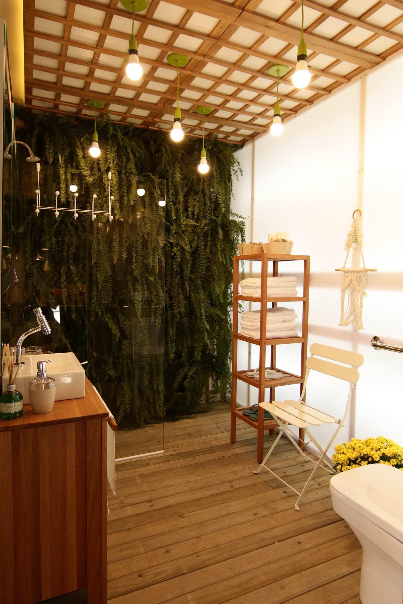 Casa Viva Leroy Merlin: lavabo inspirado em São Paulo