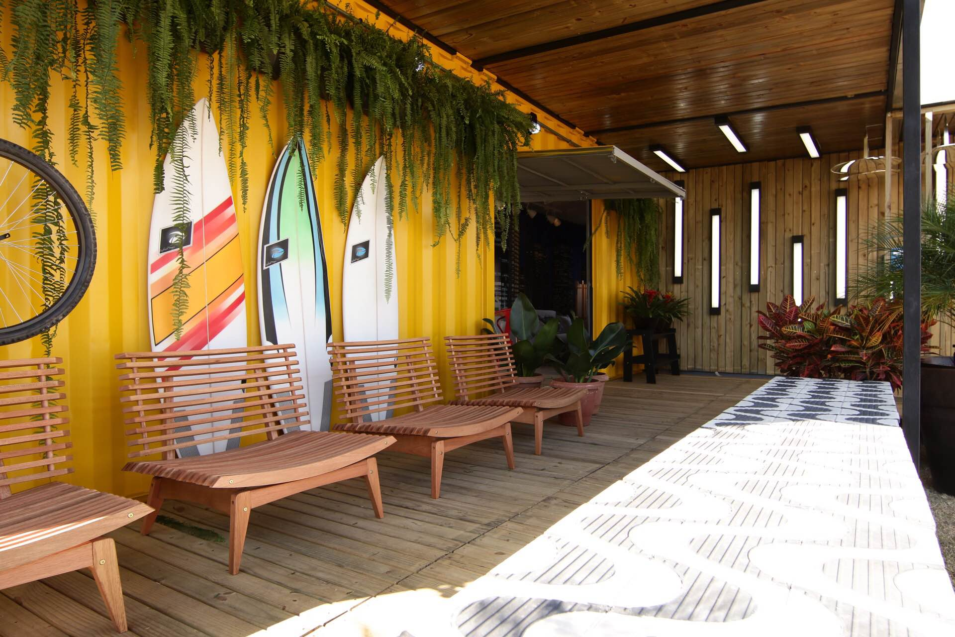 Casa Viva Leroy Merlin: varanda inspirada no Rio de Janeiro