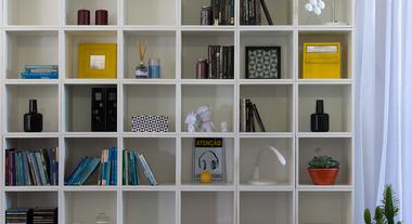 Nichos permitem construção de ambientes organizados e charmosos