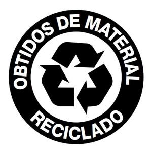 Obtidos de materiais reciclados