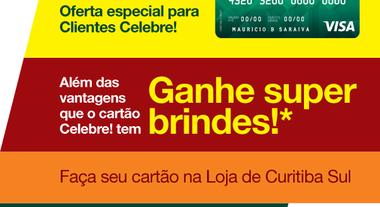 Oferta especial na Loja de Curitiba Sul