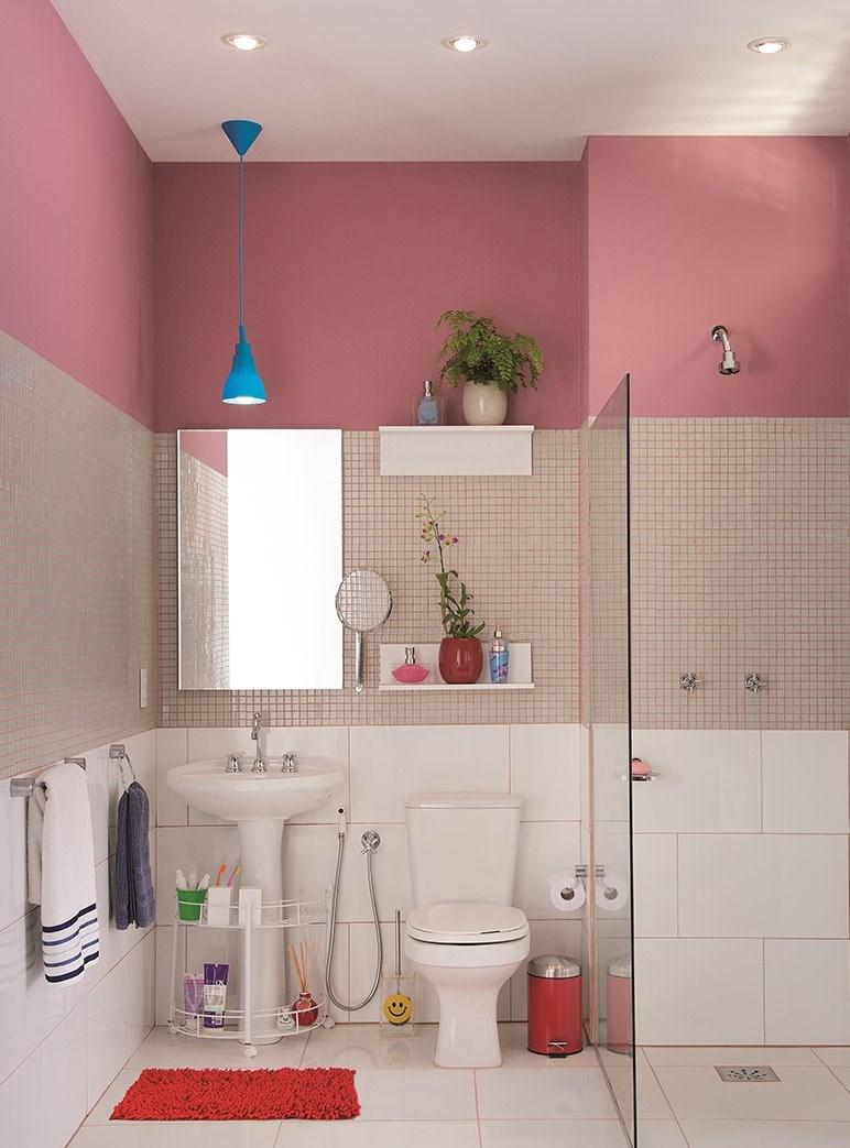 7 banheiros para voc se inspirar leroy merlin - Maquina de cortar azulejos leroy merlin ...
