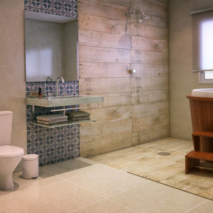 7 banheiros para voc se inspirar leroy merlin - Bastidor para lienzo leroy merlin ...