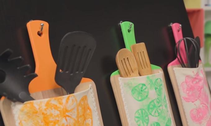Organizadores de cozinha: passo a passo de como fazer um modelo simples e barato usando tábuas